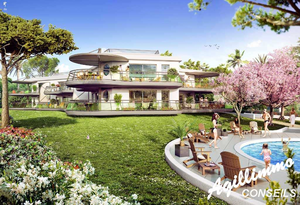 Immobilier neuf en bordure de Golf - SAINT RAPHAEL